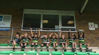 U8s first trip of the season to the Maidenhead Festival