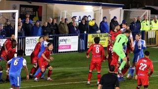 Angels (0) vs Bromley (1) Kent Senior Cup Semi Final 19.03.19. By David Couldridge