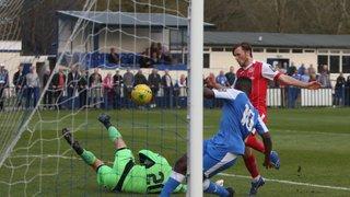 Angels (3) vs Harlow Town (1) , Bostik Premier, 30.03.19. By David Couldridge
