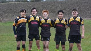 Shipston U13s celebrate five players in the South Warwickshire squad