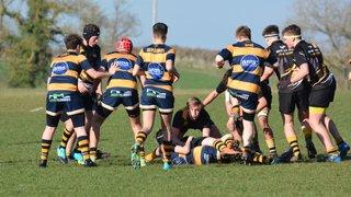 Shipston U16s fight valiantly in the Warwickshire Cup Semi Final