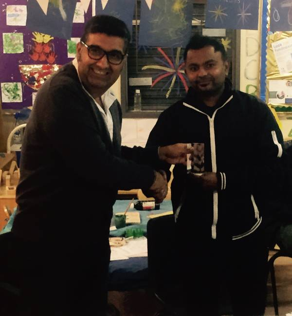 Junior was co-Clubman of the year