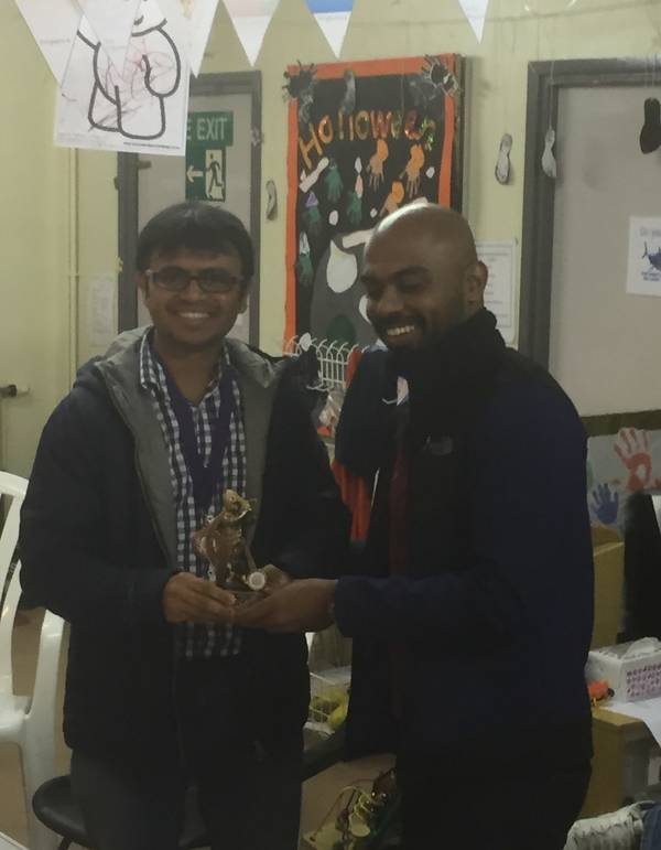 Record breaking Tejas was Batsman of the Year