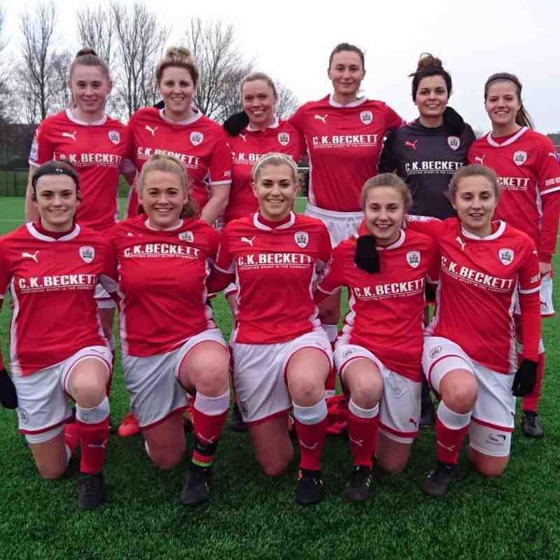14-01-18 1st team v NUWFC