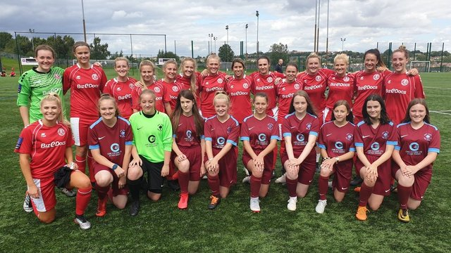 Barnsley Women's FC Ladies vs Newcastle United Womens FC