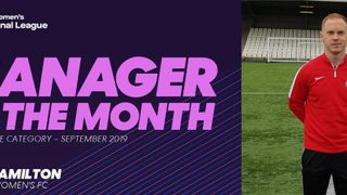 FAWNL Division One Manager of the Month