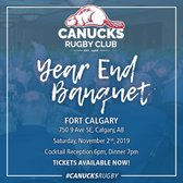 The Canucks Rugby Club Year End Banquet & Awards