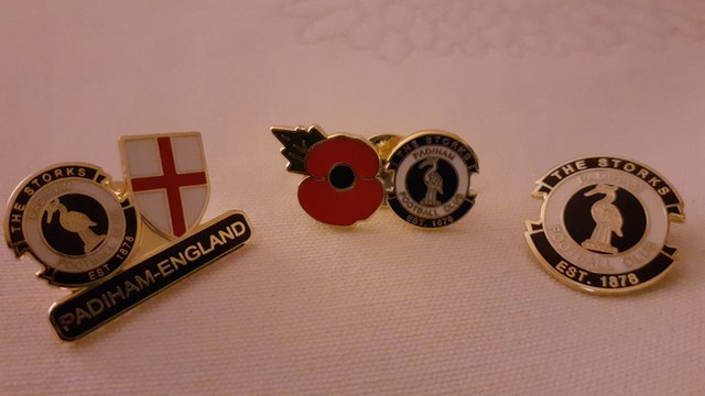 Padiham FC Pin Badges