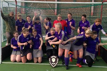 Celebrating winning Greater Manchester All Divisions Cup