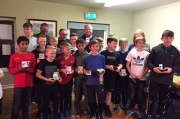 Under 13s - Lancs League Runners Up
