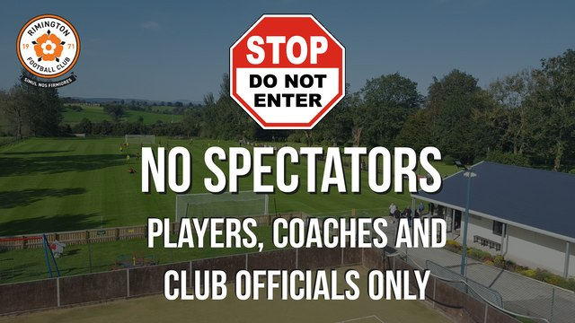 SPECTATORS ARE NOT PERMITTED