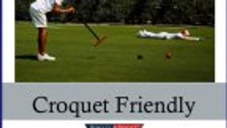 Croquet family fun for all