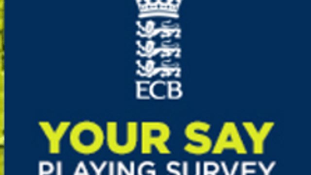 ECB Cricket Playing Survey