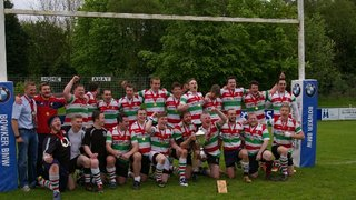 Congratulations: Stockport 3s win LBS Trophy