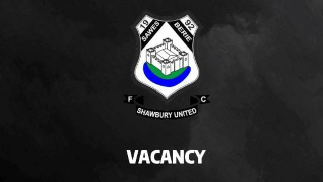 First Team Coaching Vacancy