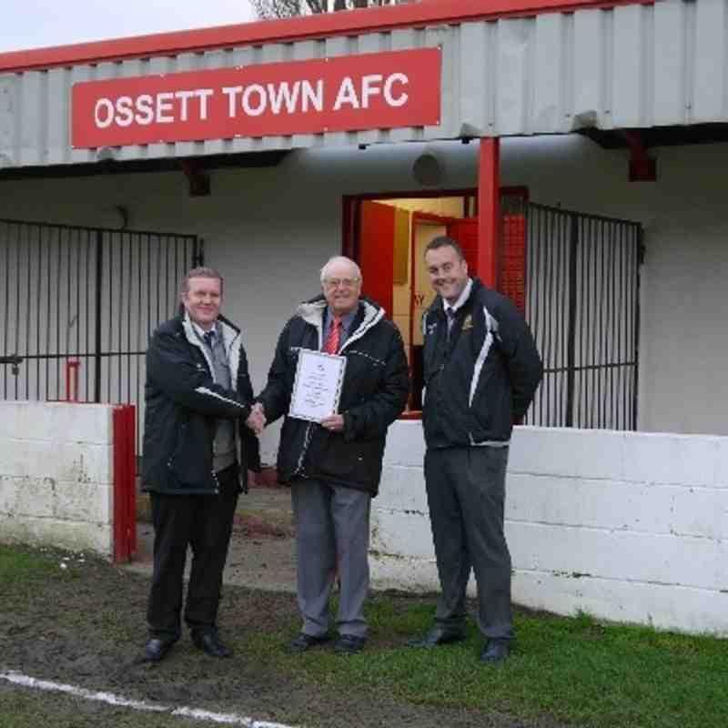 Ossett Town v Radcliffe Borough (16/11/2013)