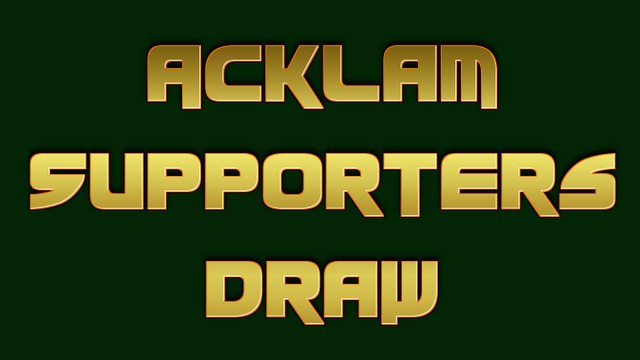 February Supporters Draw