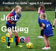 EVERY FRIDAY  :  NEW...GIRLS ONLY FOOTBALL SESSIONS  AGES 5-11 Years