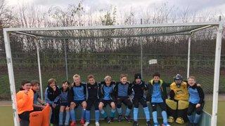 Thame U12 boys squad played Nov 25th at Ashfold against Wallingford and Oxford