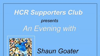 An Evening with Shaun Goater & Ian Cheesesman