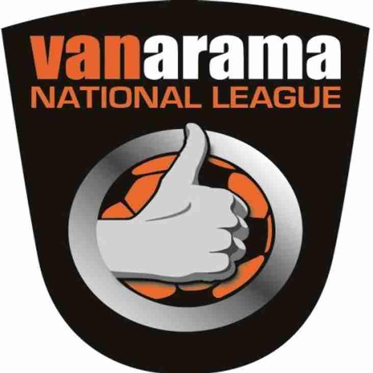 Bank Holiday Monday`s Vanarama National League Round-Up.....