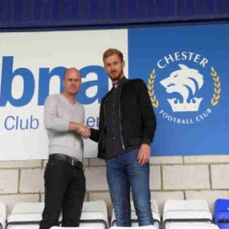 First New Signing for Chester