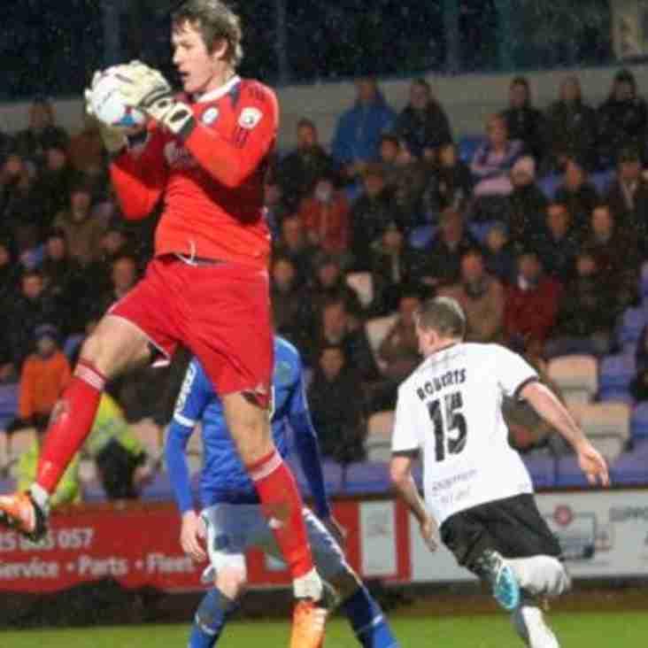Valiants Keeper Loaned to Tynesiders