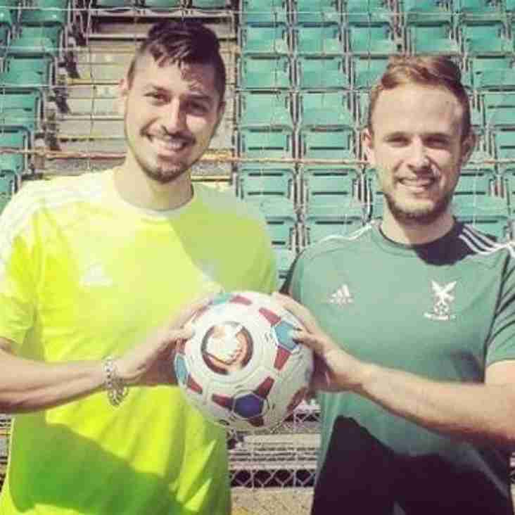 Two Keepers Sign for Hawks