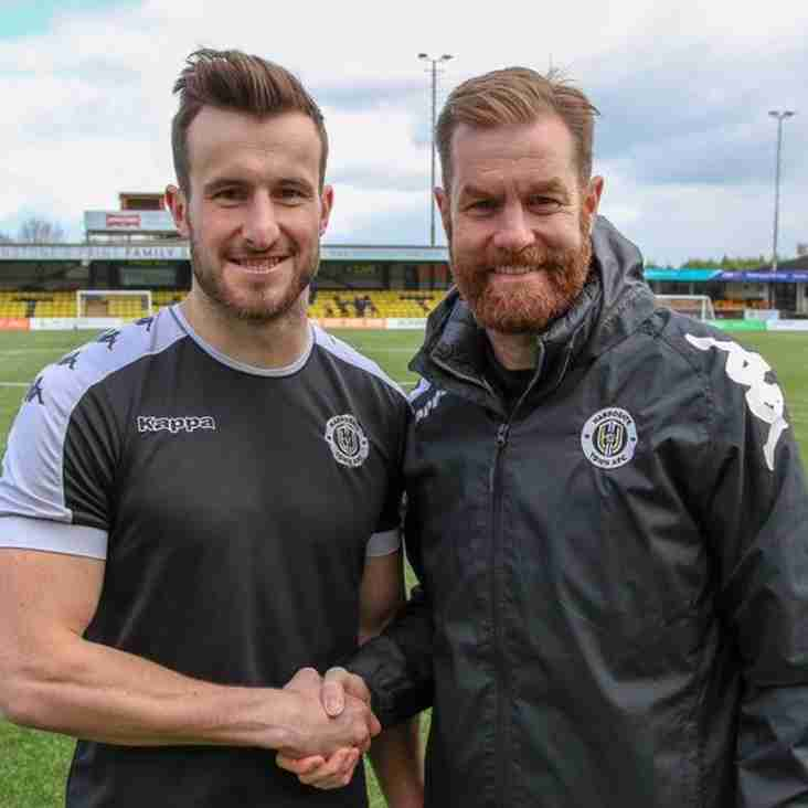Harrogate Keeper Belshaw Signs New Long-Term Deal