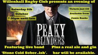 Peaky Blinders Social Event