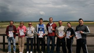 Calverton Parachute Jump 19 June 2011