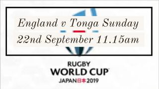 England v Tonga World Cup Match Sunday Roast