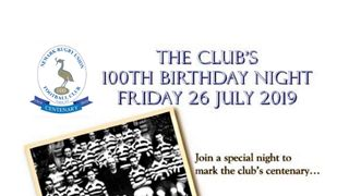 Centenary Dinner - Update - As at  9am - Thursday 20 June