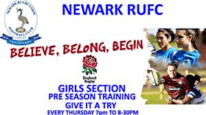 NEWARK RUFC - GIRLS SECTION