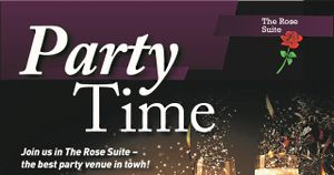 BRING YOUR PARTY TO OUR PARTY!  &  PITCH SIDE ADVERTS