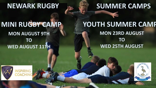 LAST ORDERS TO BOOK A PLACE ON THE MINI RUGBY CAMP