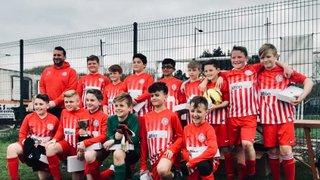 2018 Pogmoor U12s league and cup winners