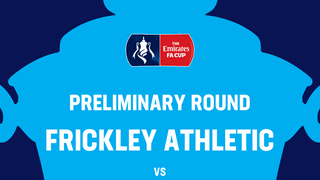 Frickley Athletic v Tadcaster Albion Preliminary Round of  the Emirates FA Cup