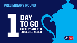 Its Frickley In the Emirates FA Cup Tomorrow