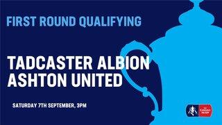 Tadcaster Host Northern Premier Ashton United in FA Cup