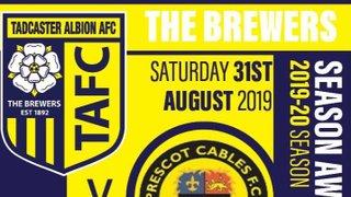 Next Up Tadcaster visit Prescot Cables FC