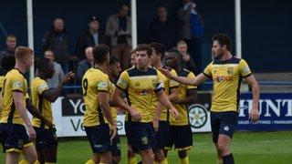 Tadcaster Albion 2 Ashton United 2 Emirates FA Cup 1st Qualifying Round