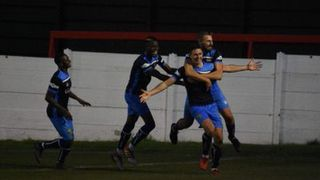 Ashton United 4 Tadcaster Albion 2 Emirates FA Cup First Round Qualifying Replay