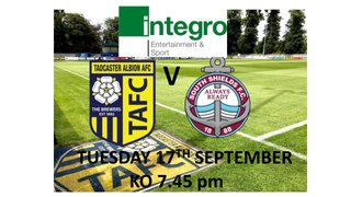 Taddy Take on South Shields in Round One of Integro Cup