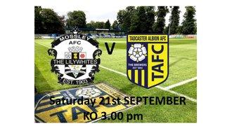 Mossley AFC V Tadcaster Albion - 21st September