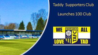 """Tadcaster Albion """"100 Club"""""""