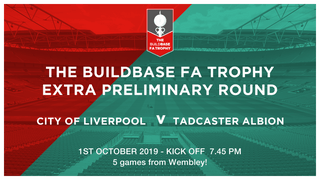 Re Arranged Date for Buildbase FA Trophy