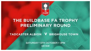 Today's Match Against Brighouse POSTPONED