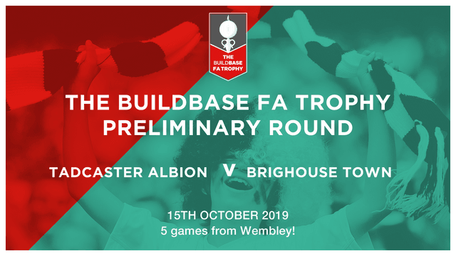 Buildbase FA Trophy Match with Brighouse