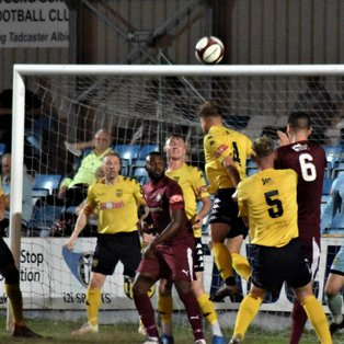 Tadcaster Albion 2 - Worksop Town 2